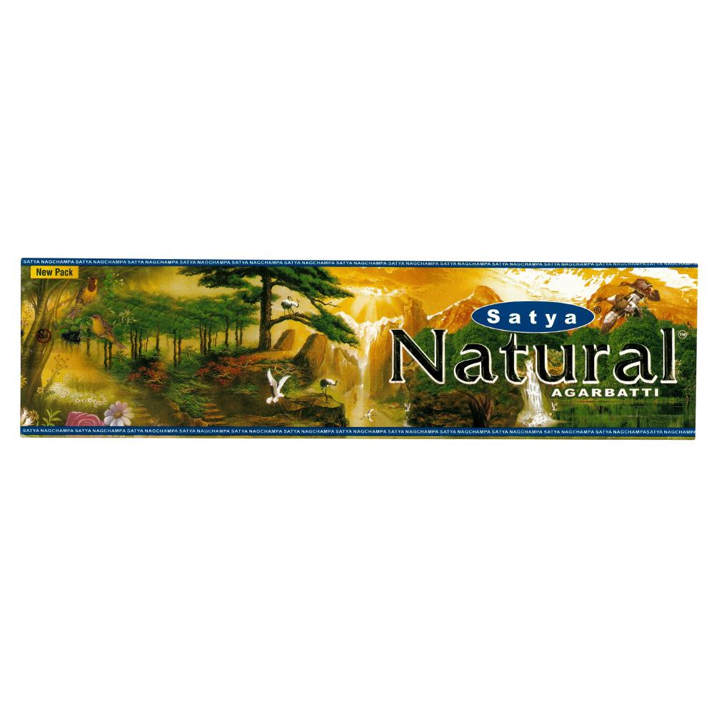 Vonné tyčinky Nag Champa Satya Sia Natural 45g (Vonné tyčinky Nag Champa Satya Sia Natural 45g)