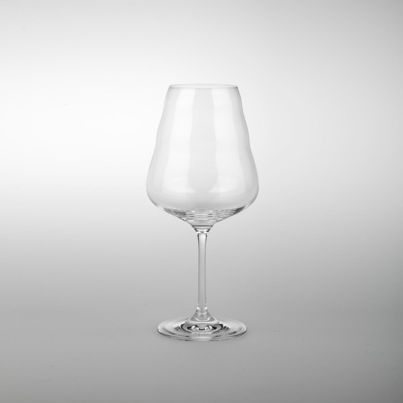 Sklenice na víno 0,5 l - s kvetem zivota (ručně vyráběné vyráběné)